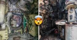 Enlace a Fotografías asombrosas que muestran el interior de un submarino soviético abandonado