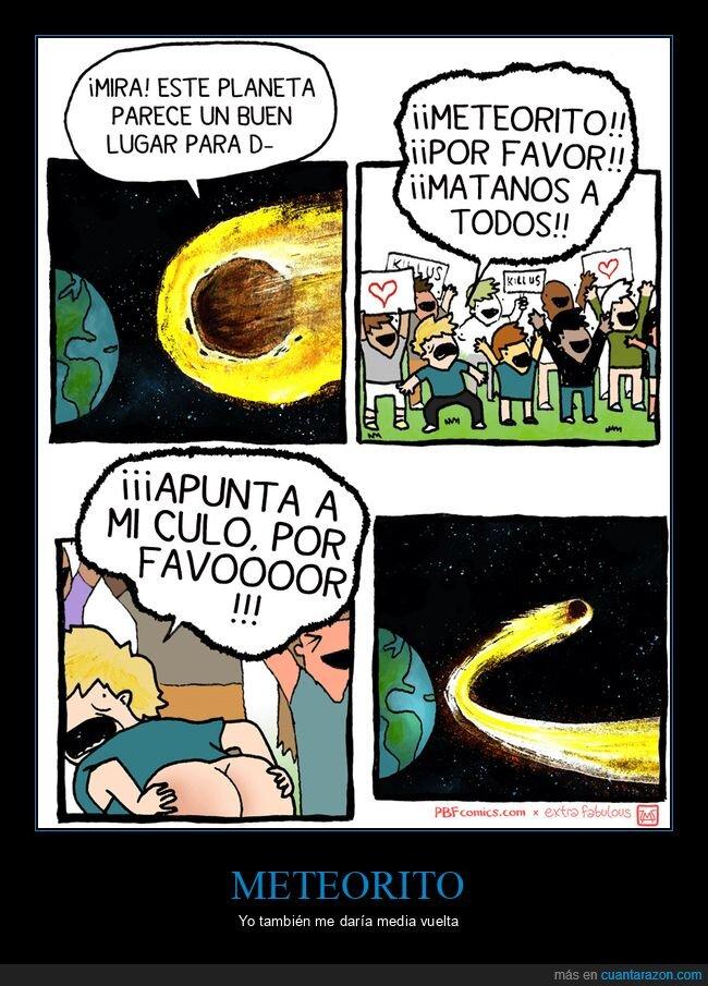 culo,meteorito