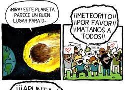 Enlace a Ni los meteoritos nos quieren