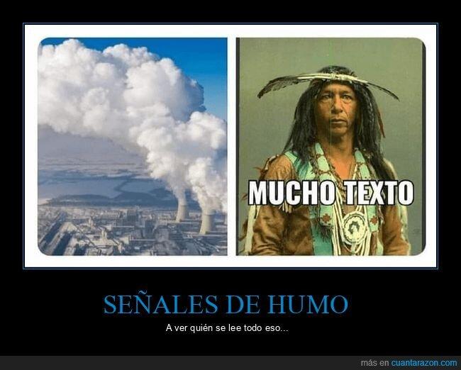 central nuclear,humo,mucho texto,señales de humo