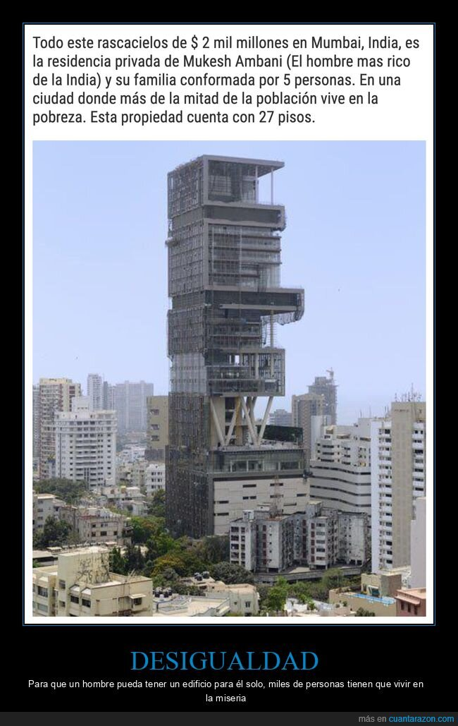 edificio,india,mukesh ambani,rico