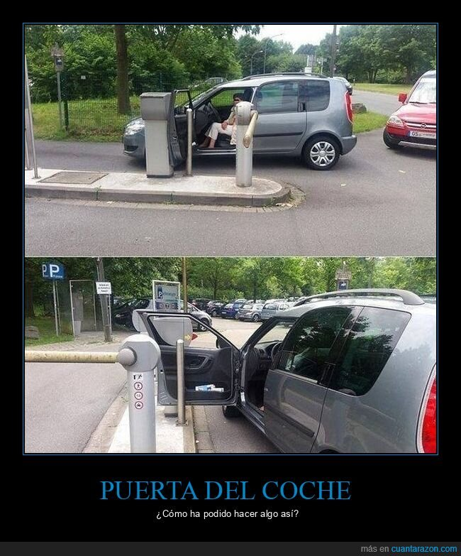 barrera,coches,puerta