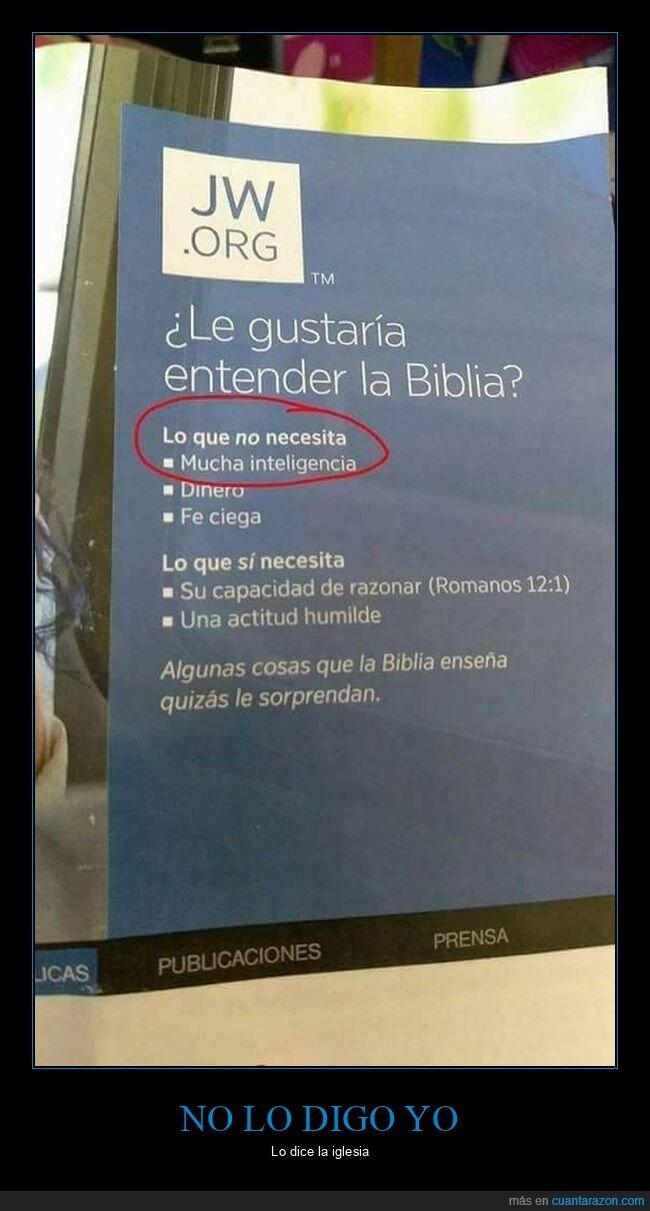 biblia,inteligencia