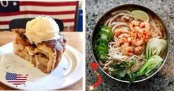 Enlace a Platos tradicionales del mundo para amantes del buen comer