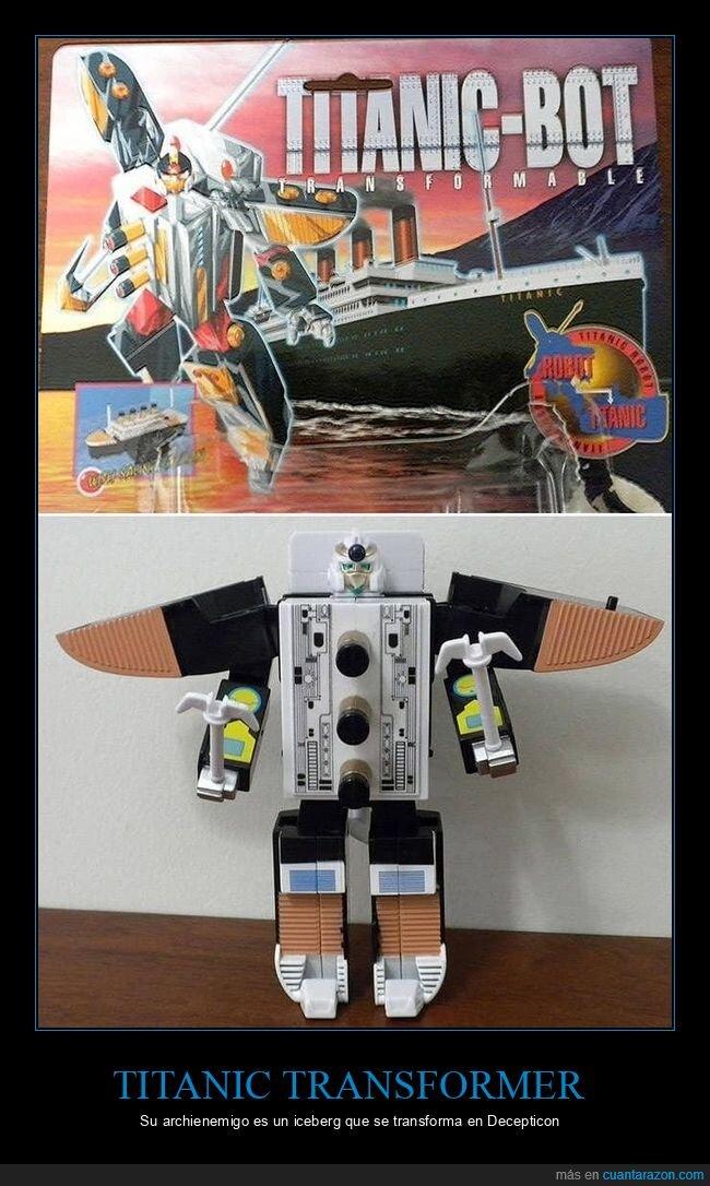juguetes,robot,titanic,wtf