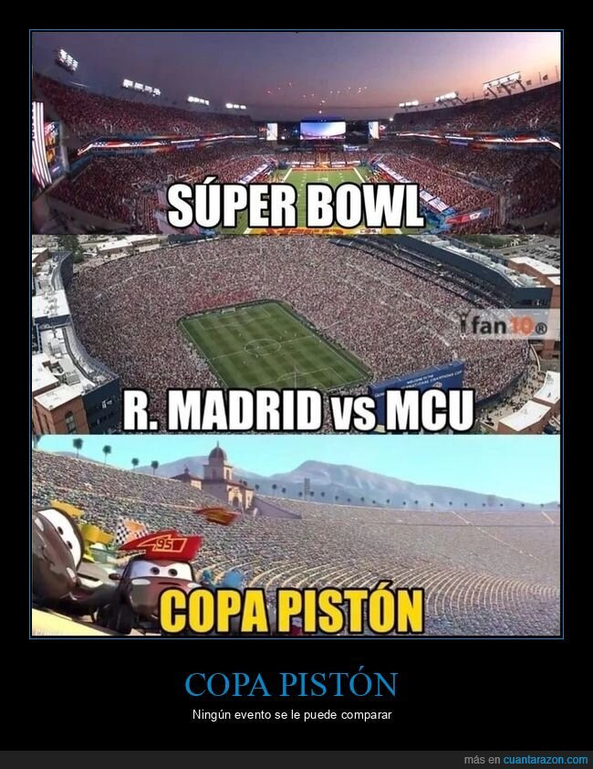 cars,copa pistón,fútbol,superbowl