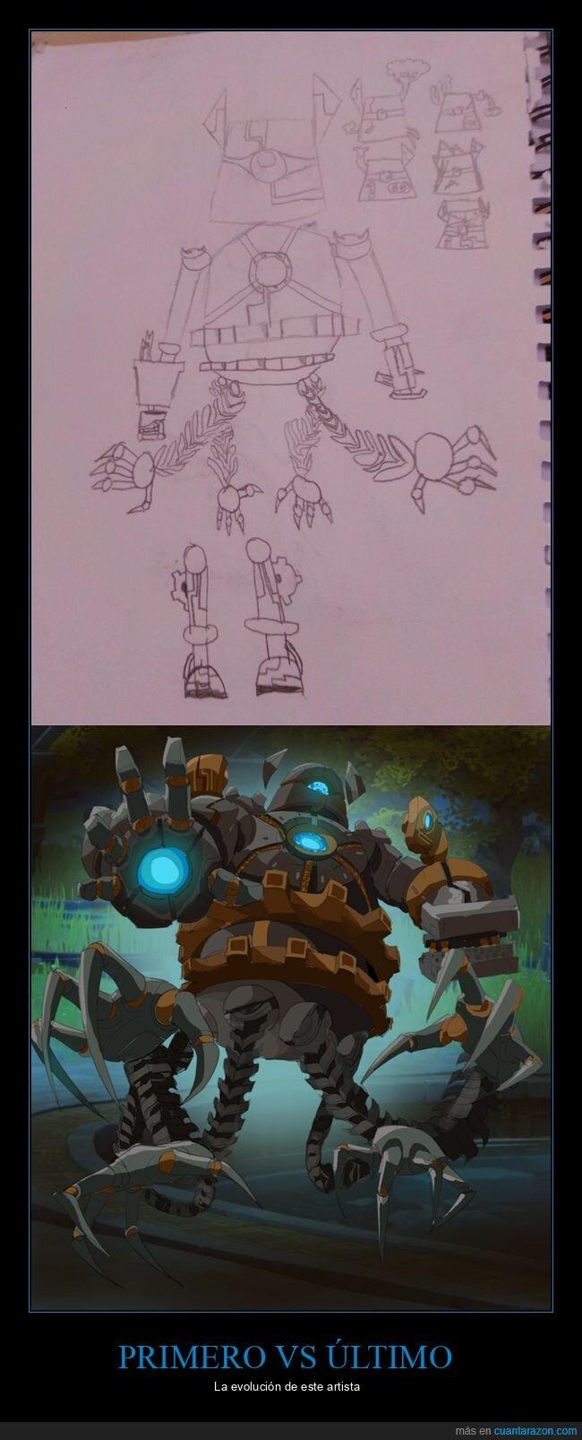 antes,arte,después,dibujo