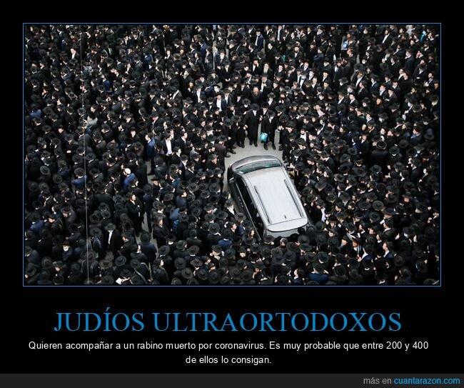 coronavirus,judíos,muerto,rabino