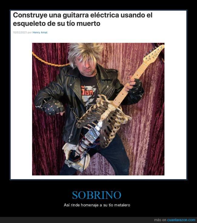 esqueleto,guitarra,tío,wtf