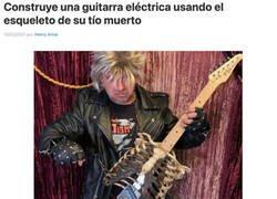Enlace a Guitarra macabra