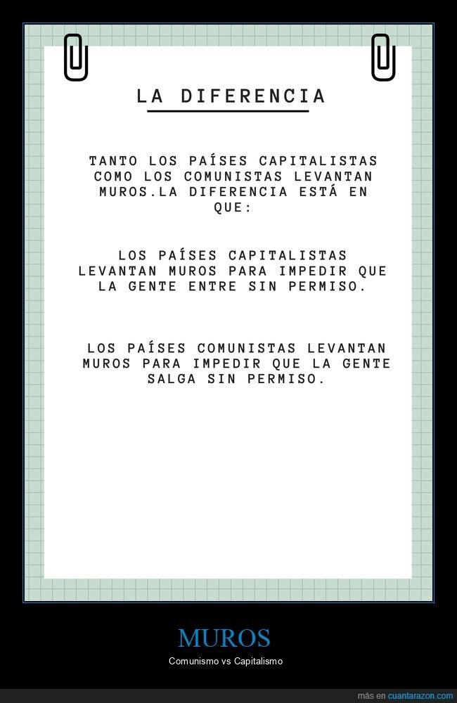 capitalismo,comunismo,muros