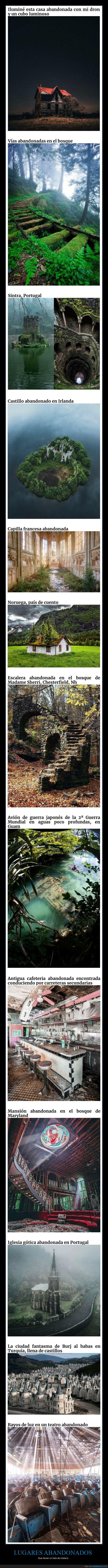 curiosidades,lugares abandonados