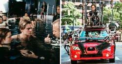 Enlace a Fotos que revelan los trucos que se usan en el cine