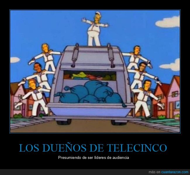 audiencia,basura,simpsons,telecinco