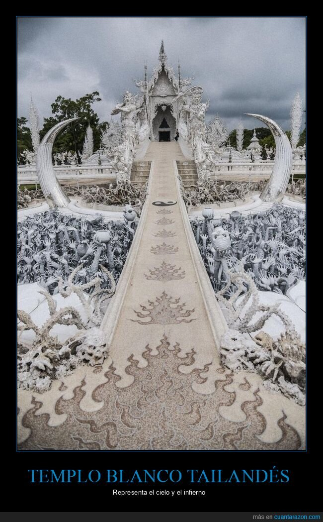 cielo,infierno,tailandia,templo