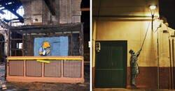 Enlace a Obras ingeniosas de OakOak que acercan la cultura pop a las calles