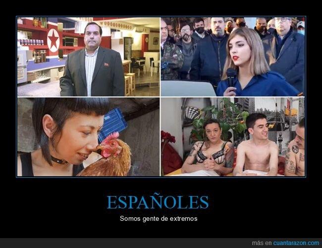 españoles,personajes