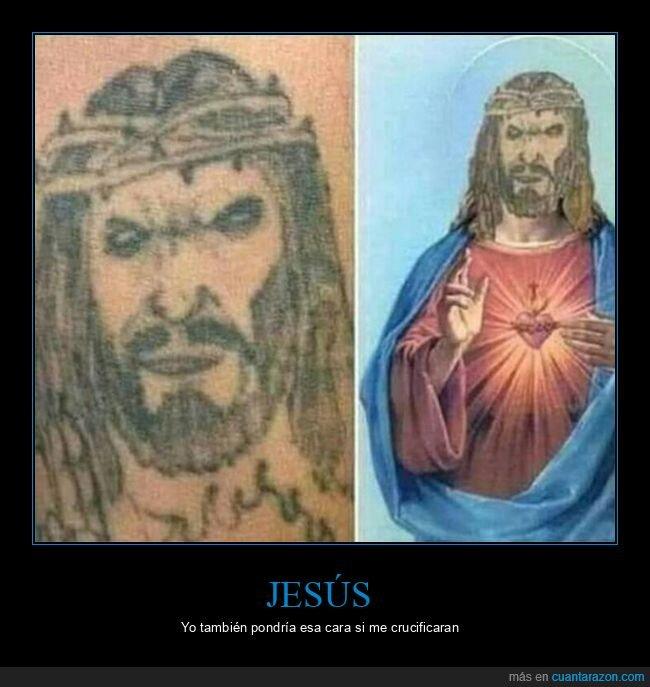 fails,jesús,mierder,tattoo