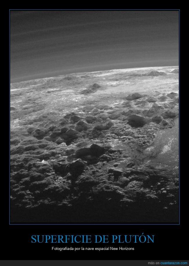 new horizons,plutón,superficie