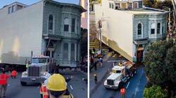 Enlace a Un hombre pagó 400,000$ para que su casa victoriana de 2.6$ millones fuera trasladada 7 manzanas en San Francisco