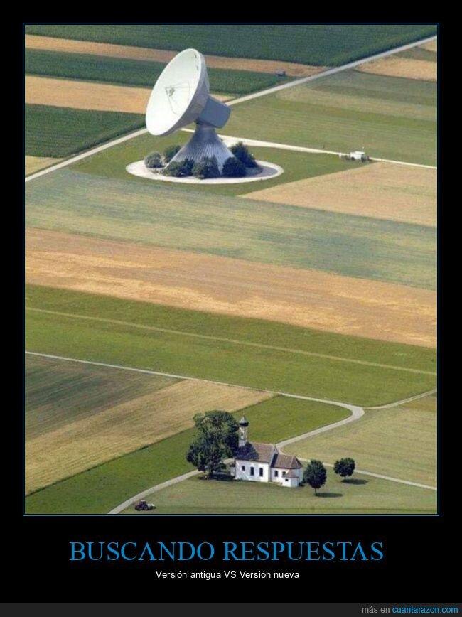 antena,iglesia,respuestas