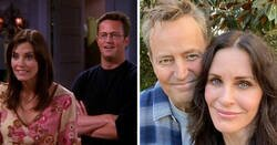 Enlace a Comparaciones de parejas famosas en la pantalla y el aspecto actual de sus actores