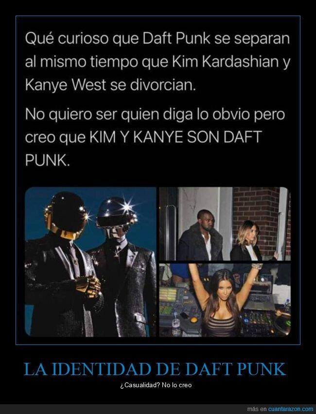 daft punk,divorcio,kanye west,kim kardashian,separación