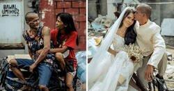 Enlace a Esta pareja de indigentes recibió un cambio de imagen y una boda sorpresa benéfica tras llevar juntos 24 años