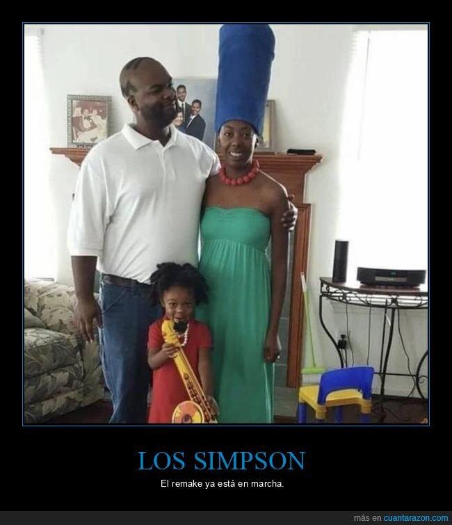 negros,simpsons