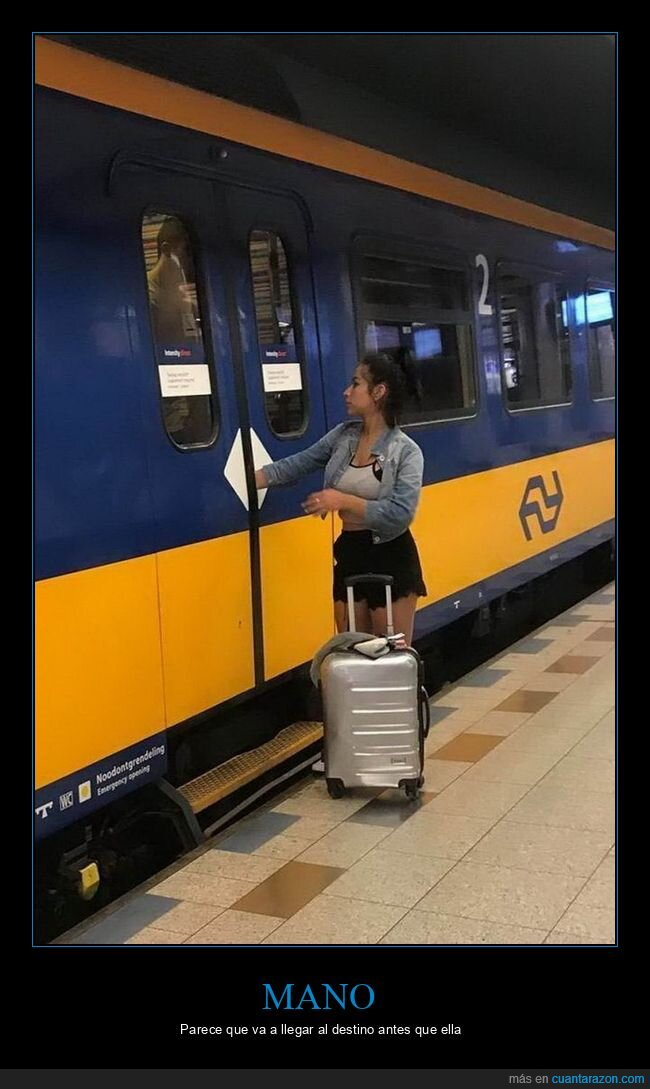 fails,mano,puerta,tren