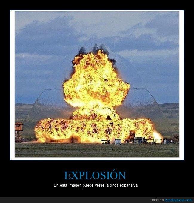 explosión,onda expansiva