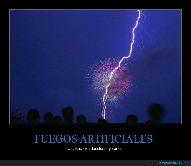 fuegos artificiales,rayo,wtf