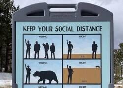 Enlace a Instrucciones de distanciamiento