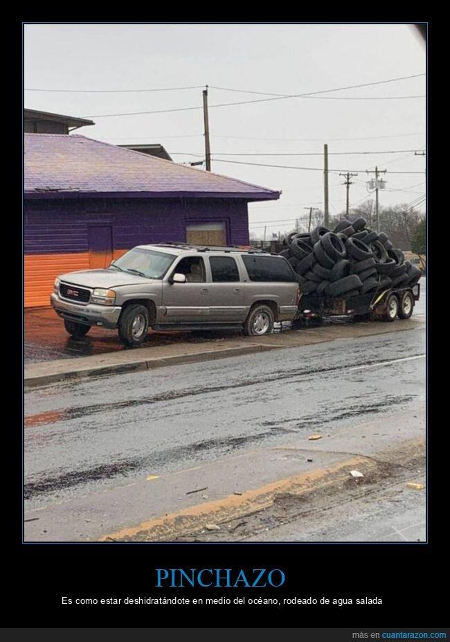 neumáticos,pinchazo,rueda,wtf