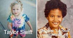 Enlace a Imágenes irreconocibles de famosos cuando eran pequeños