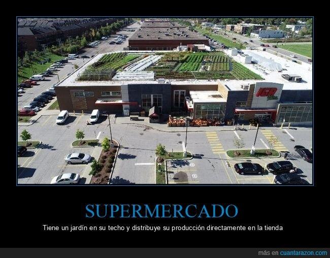 jardín,supermercado,techo