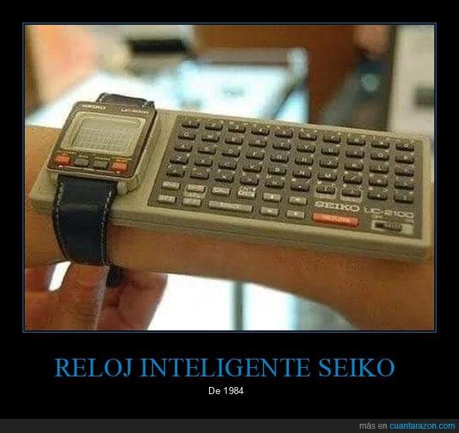 1984,reloj inteligente,seiko