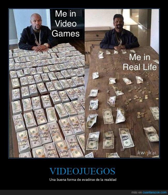 dinero,realidad,videojuegos