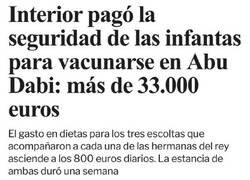 Enlace a 800 euros diarios en dietas...