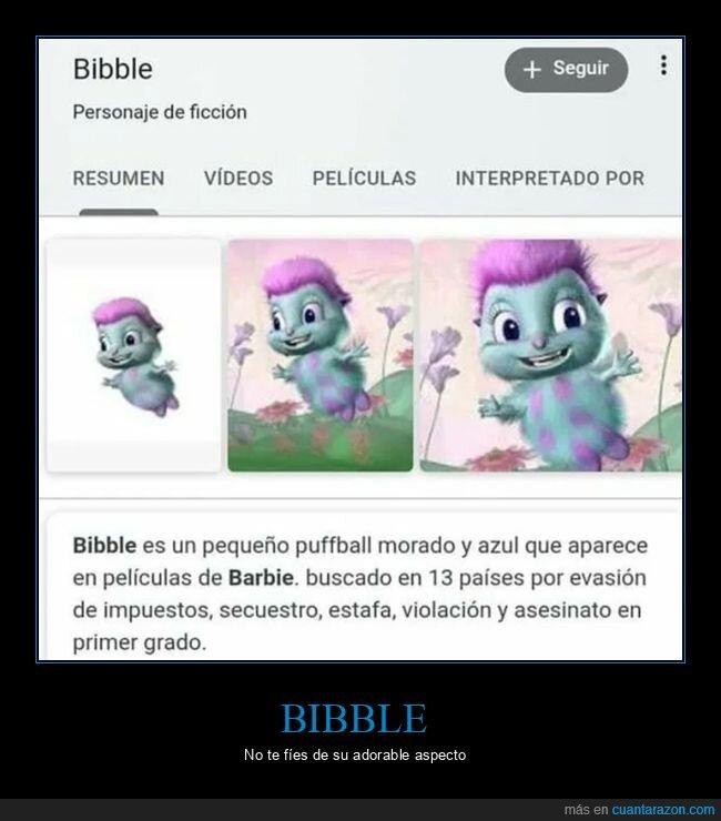 barbie,bibble,wtf