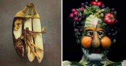 Enlace a Artistas que se inspiraron en las frutas y verduras para crear su arte