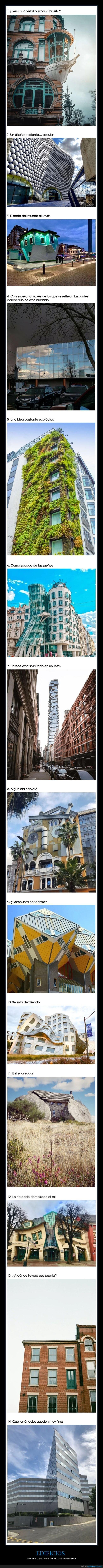 edificios,raros