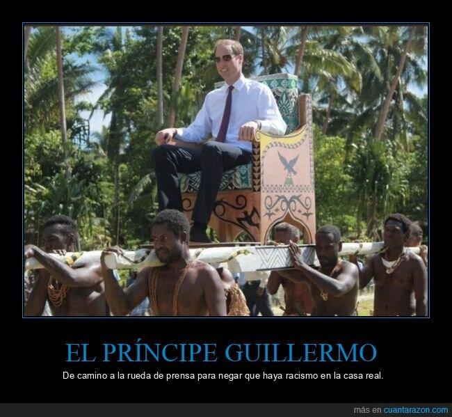 príncipe guillermo,racismo,wtf