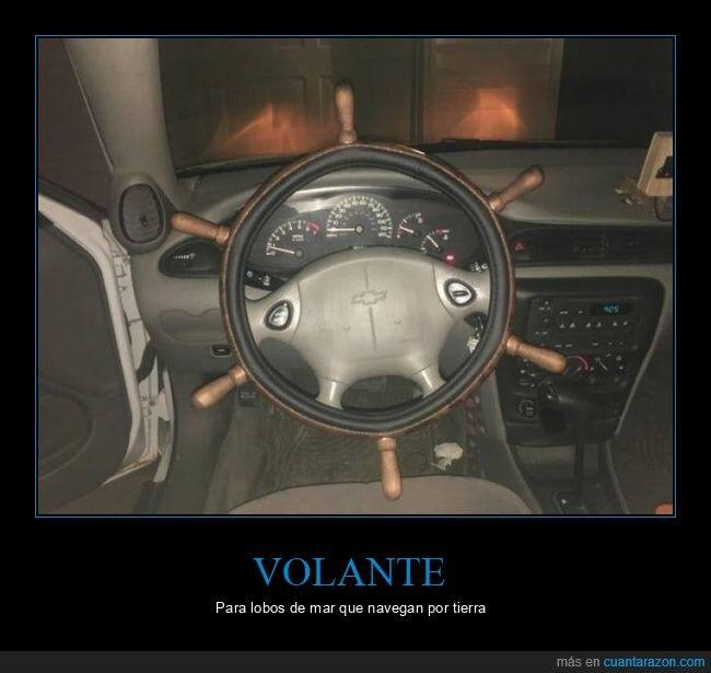 coche,timón,volante
