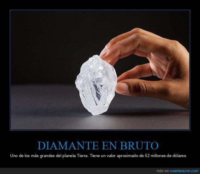 diamante en bruto,grande,valor