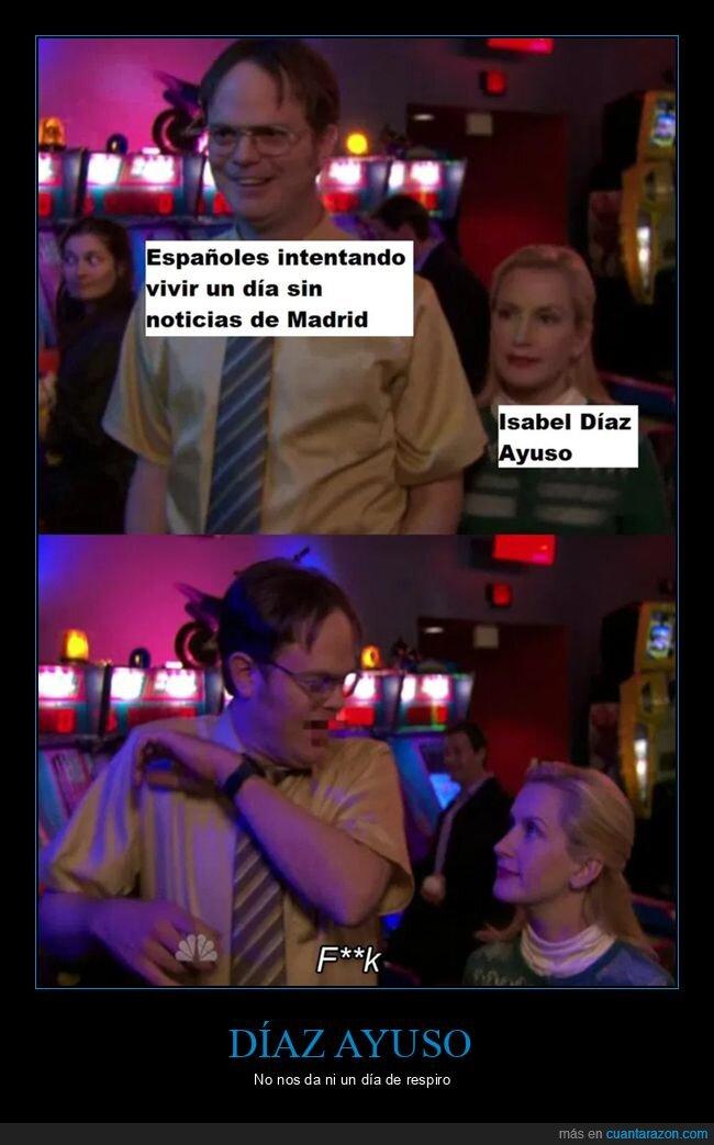 díaz ayuso,madrid,políticos,the office
