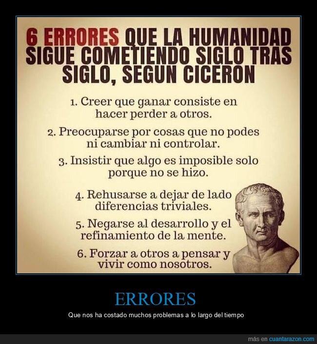 cicerón,errores,humanos