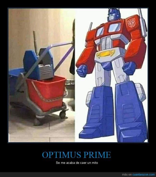 cubo,optimus prime,parecidos