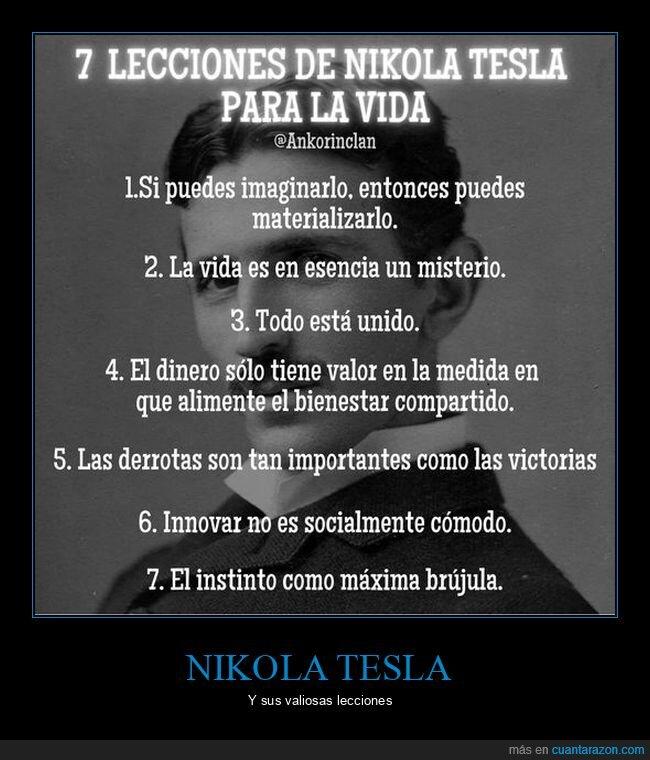 lecciones,Nikola,Tesla