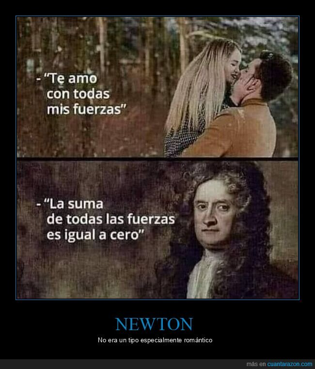 amor,fuerzas,newton